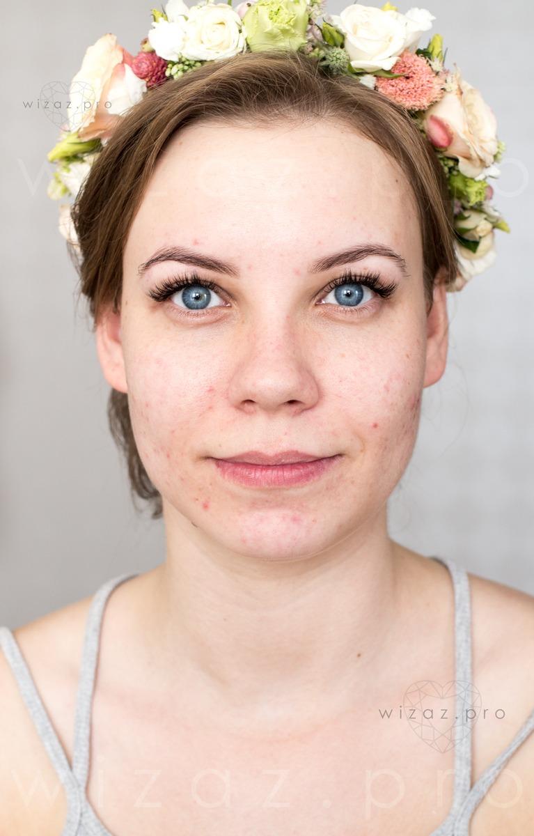 Before-Metamorfoza ślubna