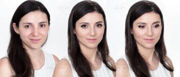 Delikatny i rozświetlający makijaż dla brunetki z ciemnymi oczami – 25. Finał WOŚP