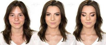 Makijaż ślubny NATURALNY dla ciemnookiej brunetki z trądzikiem