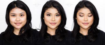 Makijaż ślubny podkreślający urodę dla brunetki